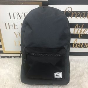 New dark gray Herschel Supply Company Backpack